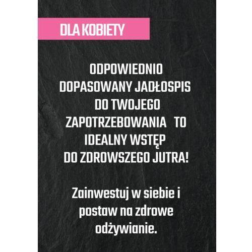 Jadłospis szyty na miarę - dla kobiet / SOKI COLDPRESS / DOSTAWA W 24h / DETOKS SOKOWY / DIETA SOKOWA (5907518370487)