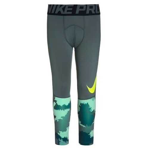 Nike Performance PRO HYPERWARM Legginsy hasta/obsidian/volt - produkt z kategorii- Legginsy dla dzieci