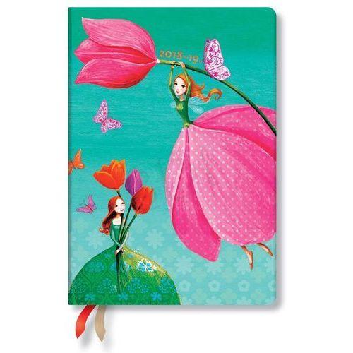 Kalendarz 18M 2019 Joyous Springtime Midi Horizontal (9781439745601)
