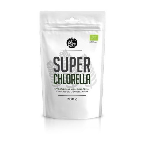 DIET-FOOD Bio Super Chlorella 200g (5901549275308)