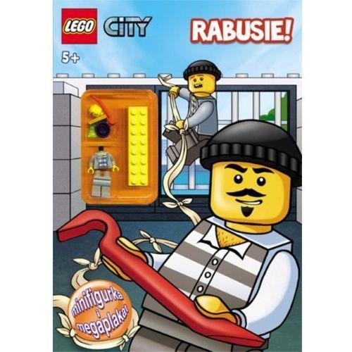 LEGO? City. Rabusie! + FIGURKA, książka z kategorii Albumy