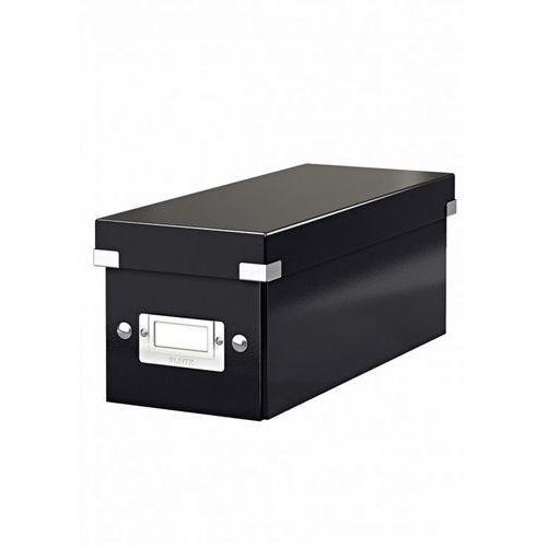 Produkt Pudło na CD  Click&Store Wow 6041 - czarne, marki Leitz