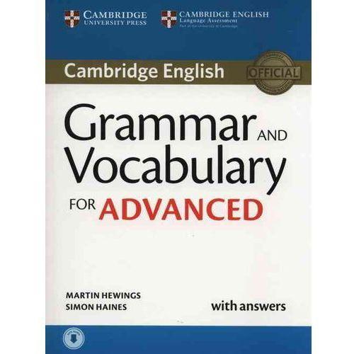 Grammar and Vocabulary for Advanced.Podręcznik z Odpowiedziami + Audio CD (2015)