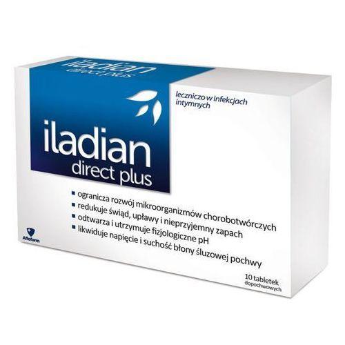 Iladian direct plus x 10 kaps.dopochw., postać leku: kapsułki