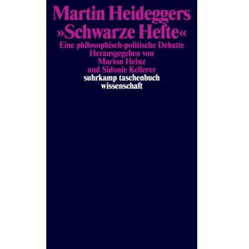 """Martin Heideggers """"Schwarze Hefte"""" (9783518297780)"""