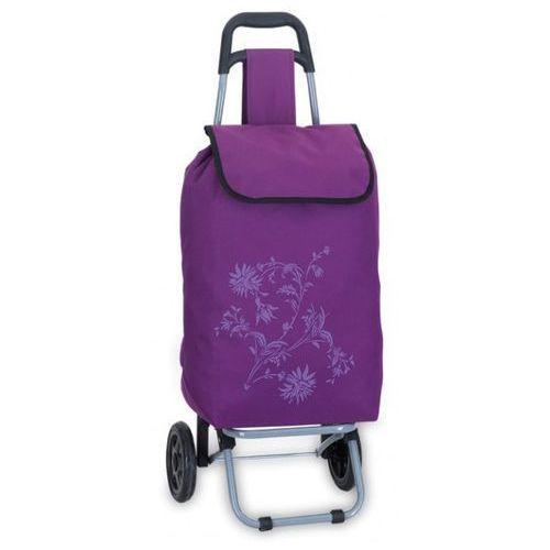 Wózek na zakupy fioletowy niemieckiej marki Southwest (wózek na zakupy)