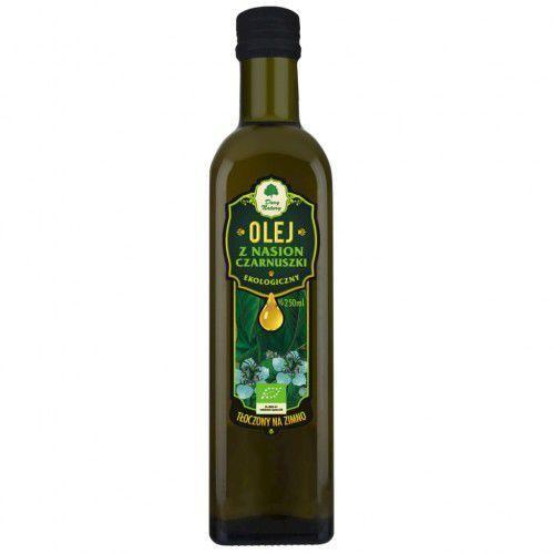 Olej z nasion czarnuszki eko 0,25 l marki Dary natury