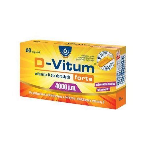Kapsułki D-VITUM FORTE ® 4000 j.m. - witamina D 60 kaps