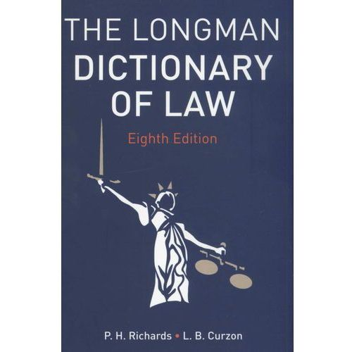 The Longman Dictionary of Law, Pearson