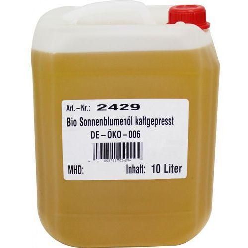 Olej słonecznikowy tłoczony na zimno bio 10 l - horeca marki Bio planet