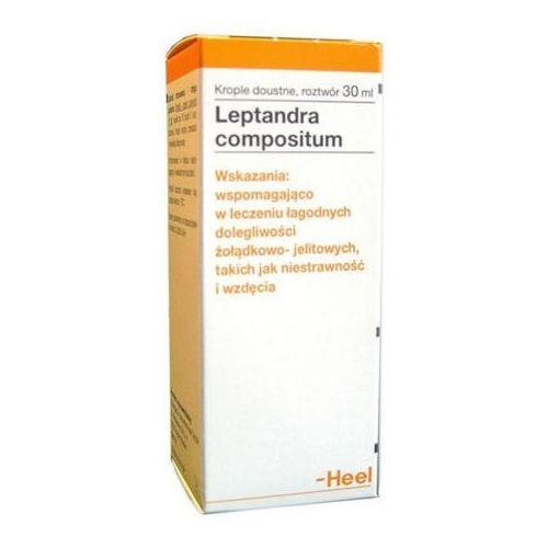 HEEL Leptandra compositum krople 30 ml (Homeopatia)