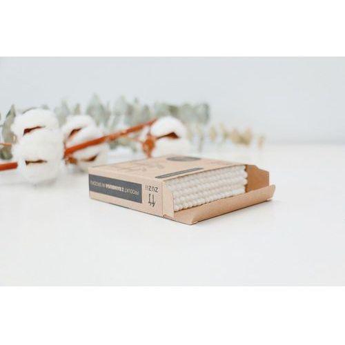 Zuzii Patyczki kosmetyczne z bambusa i bawełny 100 szt.