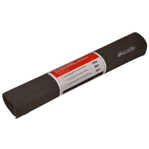 Uniwersalna mata ochronna pod sprzęt amortyzująca 160 x 80 x 0,6 cm - kolor czarny marki Insportline