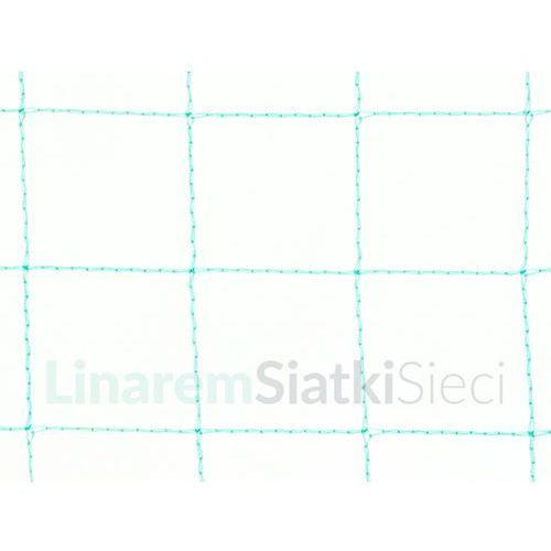 Zielona siatka przeciw ptakom na plantacje do sadu oczko 25 mm Gramatura 14 g/mkw