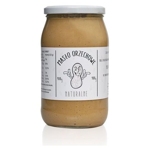 Masło orzechowe MONSTER Arachidowe 900g Najlepszy produkt