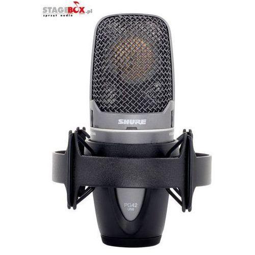 Shure pg42-usb - mikrofon pojemnościowy usb