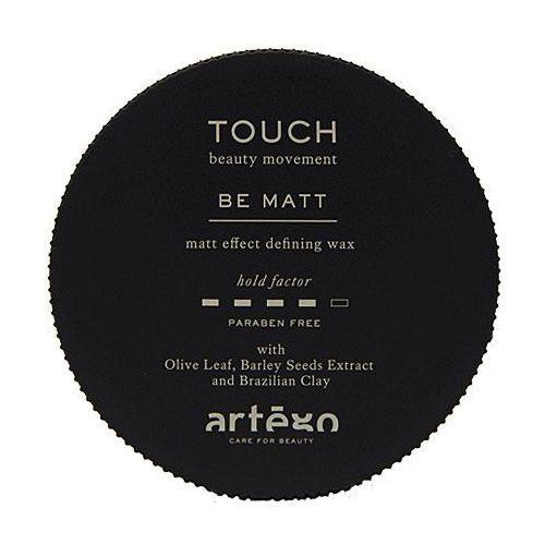 touch be matt, wosk matujący dodaje teksturę i objętość włosom krótkim 100ml marki Artego