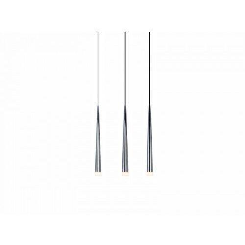 Azzardo Lampa wisząca stylo 3 md 1220b-3 chrome - + led - autoryzowany dystrybutor azzardo