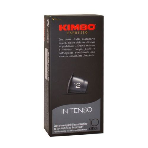 intenso nespresso 10 kapsułek marki Kimbo