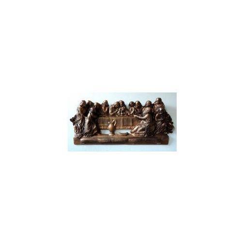 Ostatnia Wieczerza - płaskorzeźba skórzana - duży format - PW8-2