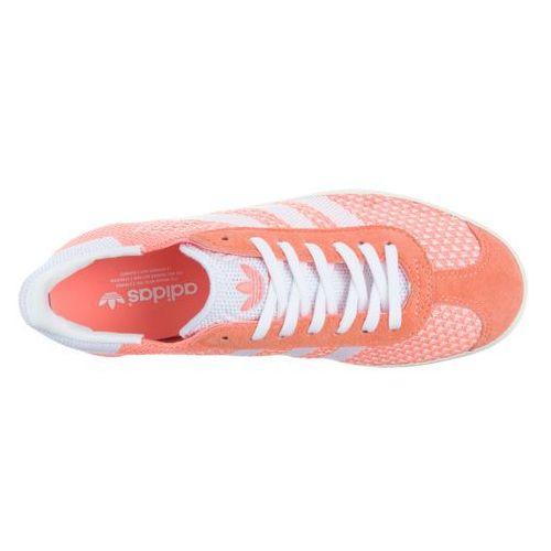 Adidas originals gazelle primeknit sneakers pomarańczowy 39 1/3