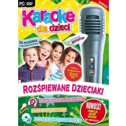 Karaoke Dla Dzieci Rozśpiewane Dzieciaki (PC)