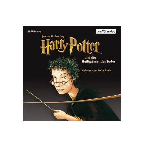 Harry Potter und die Heiligtümer des Todes, 22 Audio-CDs Rowling, Joanne K. (9783867176606)