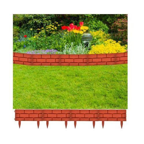 Ogrodzenie trawnika, 11 części - sprawdź w VidaXL