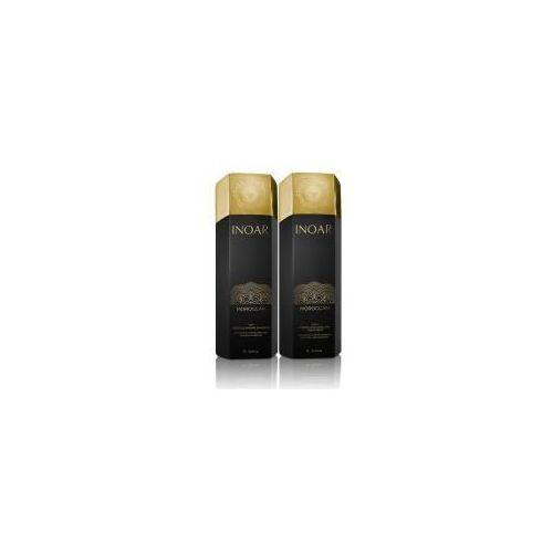 Inoar keratyna do prostowania 250ml + szampon oczyszczający 250ml