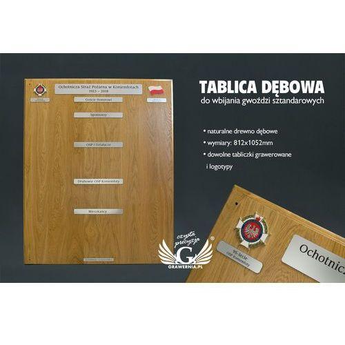 Grawernia.pl - grawerowanie i wycinanie laserem Duża tablica do wbijania gwoździ sztandarowych - jasna - wym. 812x1052mm - tab060
