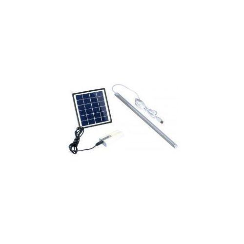 POWERplus Dove - zestaw zasilania solarnego 2W z powerbankiem i lampą 36LED, PP-Dove