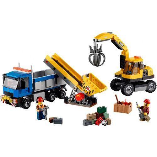 Lego City KOPARKA I CIĘŻARÓWKA 60075 z kategorii: klocki dla dzieci
