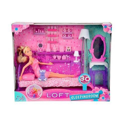 Lalka SIMBA Steffi Nowe Mieszkanie Sypialnia 105730411 z kategorii lalki