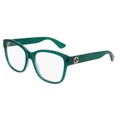 Gucci Okulary korekcyjne gg0038o 005
