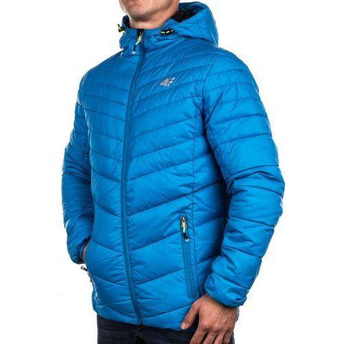 Kurtka zimowa puchowa męska T4Z15-KUM005 4F - niebieski, 4f z Sklep Sportowy Presto