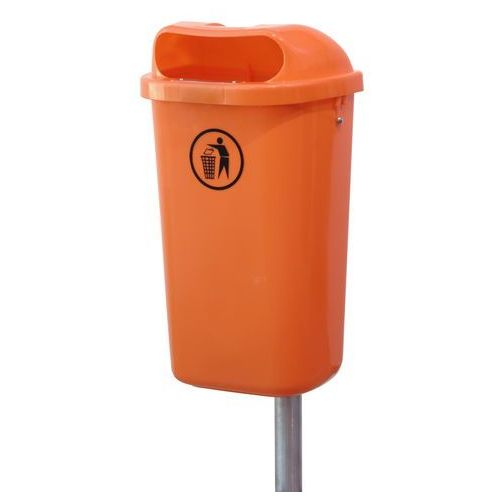 Kosz na śmieci Kosz uliczny DIN 50L - produkt dostępny w twojekosze.pl