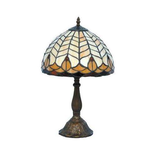 LAMPKA biurkowa TIFFANY K-G081551 Kaja klasyczna LAMPA witrażowa patyna multikolor - sprawdź w MLAMP.pl - Rozświetlamy Wnętrza