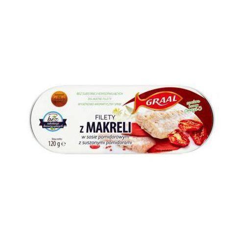 Graal 120g filety z makreli w sosie pomidorowym z suszonymi pomidorami
