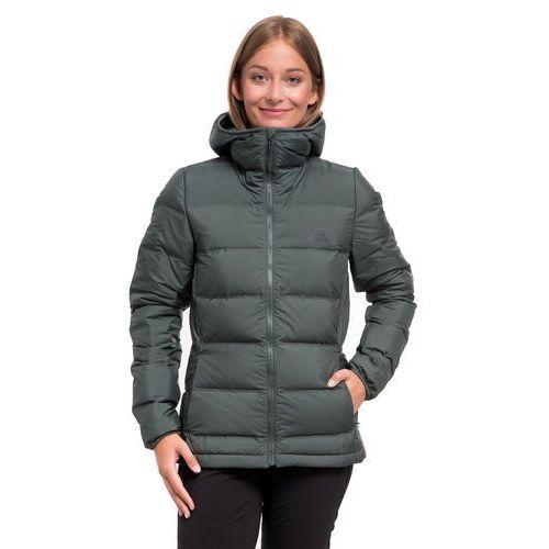 Kurtka helionic down hooded women - utility ivy marki Adidas