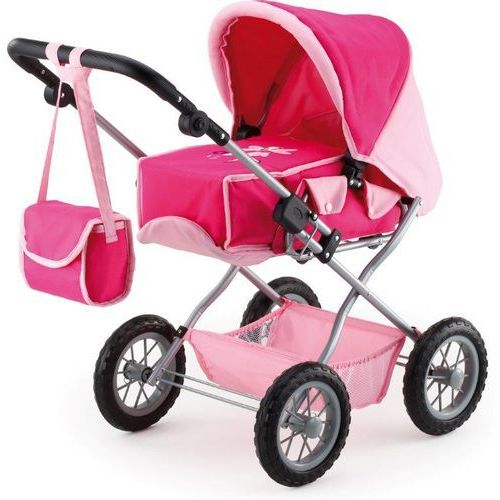 Bayer Design Wózek dla lalek Kombi Grande, różowy - oferta [0515d841931f3517]