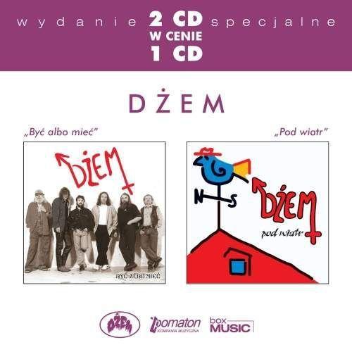 DŻEM - BYĆ ALBO MIEĆ / POD WIATR - Album 2 płytowy (CD) (5099962602105)