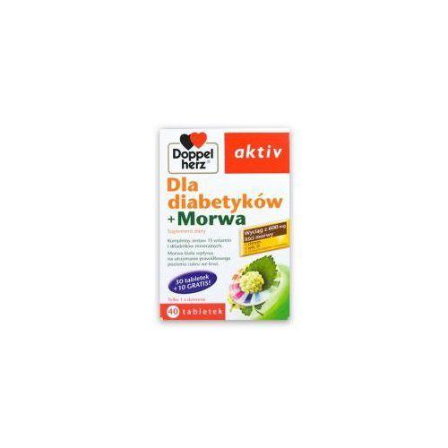 Tabletki DOPPELHERZ AKTIV DLA DIABETYKÓW +MORWA, 40 TABLETEK