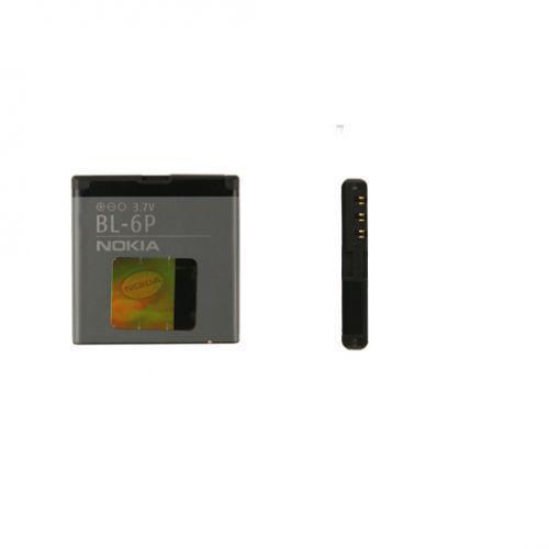 Nokia 6500 classic / BL-6P 830mAh 3.1Wh Li-Ion 3.7V (oryginalny) - produkt z kategorii- Baterie do telefonów