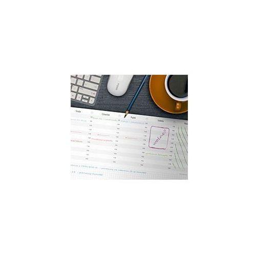 Planowaki.pl Biuwar 2018, kalendarz na biurko z notesem 48x33cm z plastikową listwą