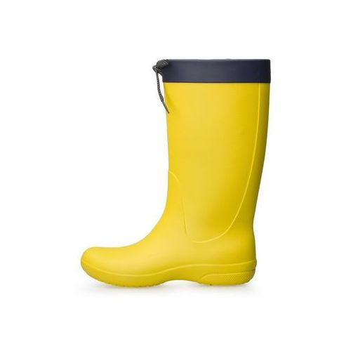 Kalosze Crocs Freesail Rain Boot Lemon 203541-7C1 (0887350838961)