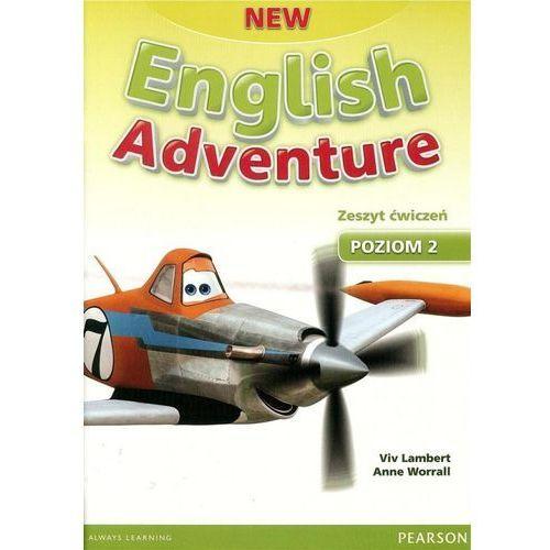 New English Adventure 2. Ćwiczenia + CD (Do Wersji Wieloletniej) (9781447949251)