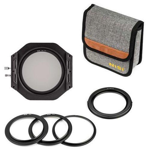 Nisi v6 uchwyt filtrowy + pro cpl kit 100mm