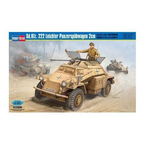 Niemiecki samochód pancerny SdKfz 222 Leichter Panzerspahwagen HobbyBoss 82442, 1_505986