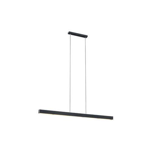 LAMPA wisząca VERMONT 3951 Argon metalowa OPRAWA listwa LED 24W zwis belka czarna, 3951
