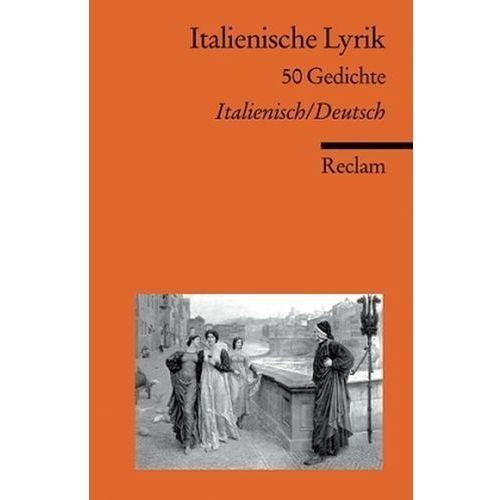 Italienische Lyrik, Italienisch-Deutsch